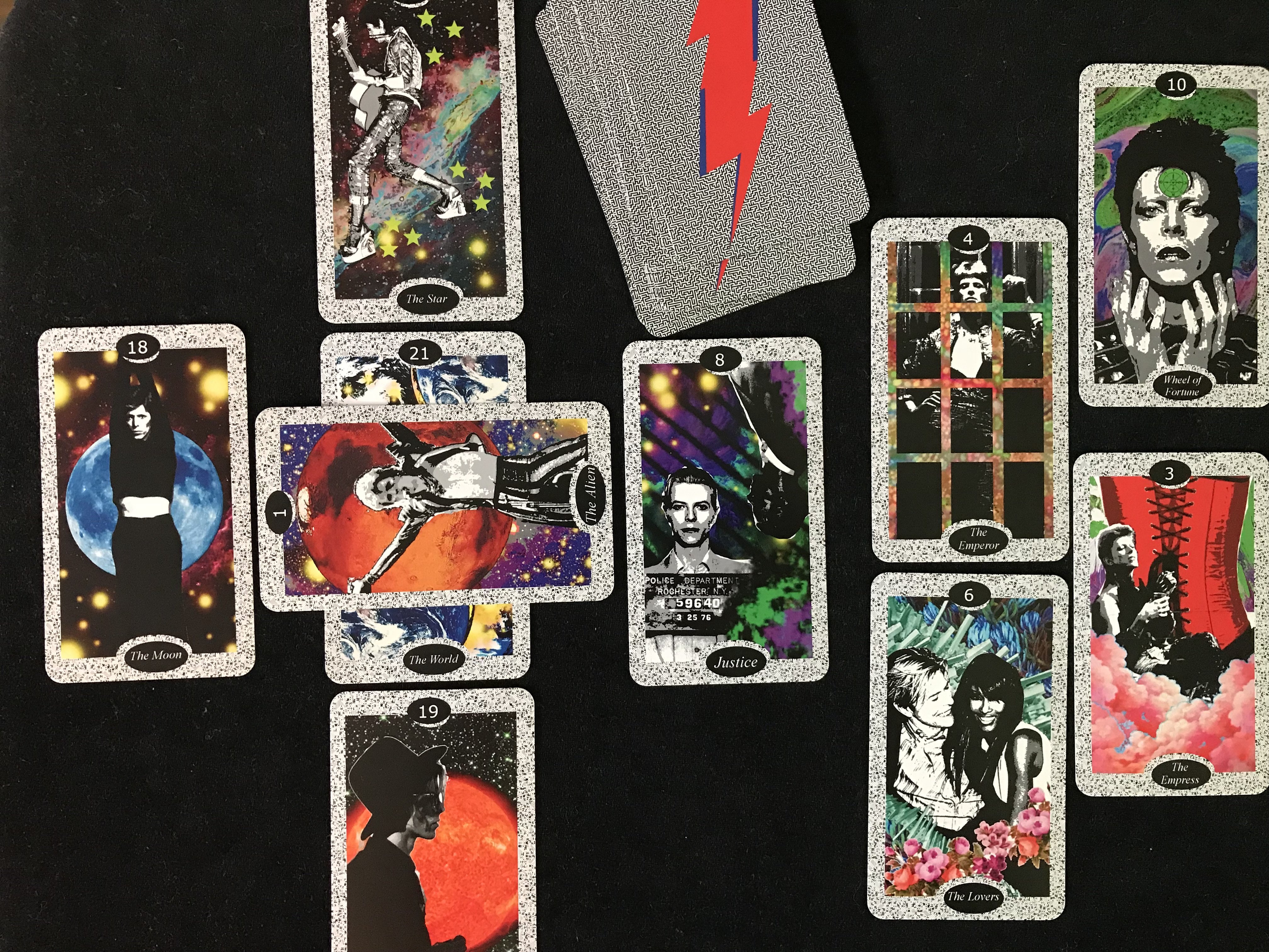 David Bowie Tarot spread
