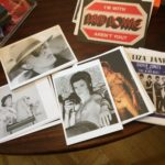 David Bowie souvenir cards