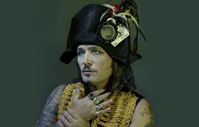 Adam Ant - Blueblack Hussar