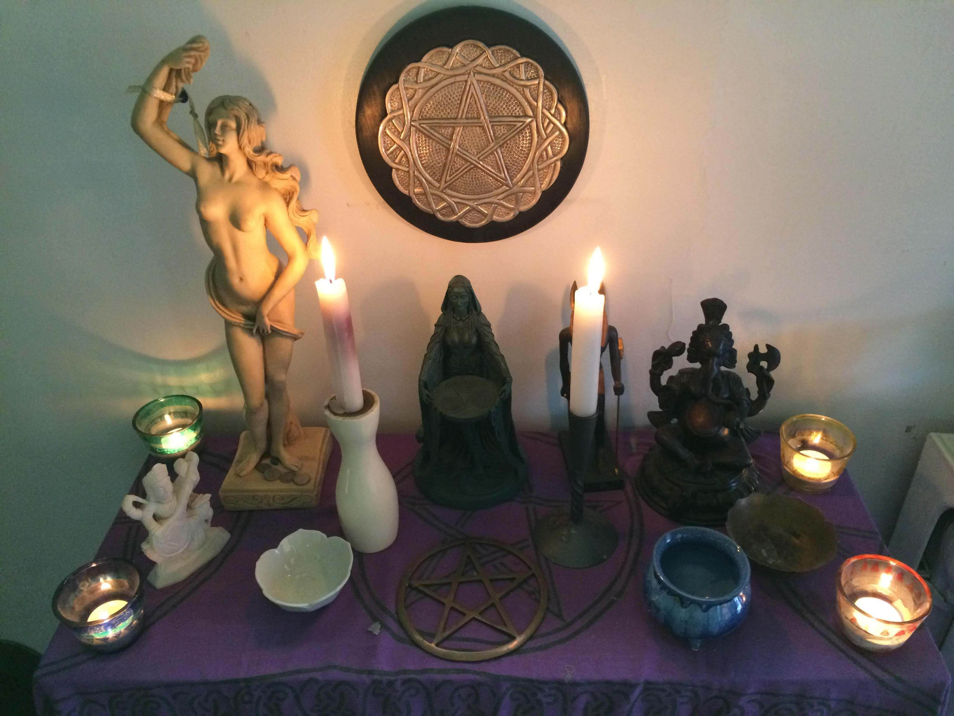 altar photo by Wendy Sheridan