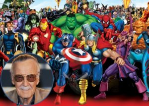 Stan Lee and Marvel Comics characters