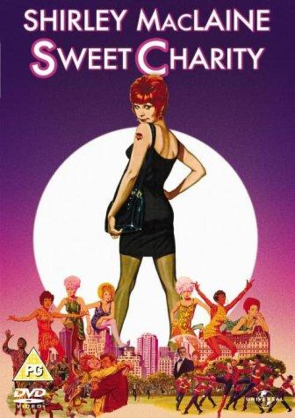 Sweet Charity starring Shirley MacLaine promo art
