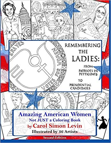 Remembering the Ladies coloring book