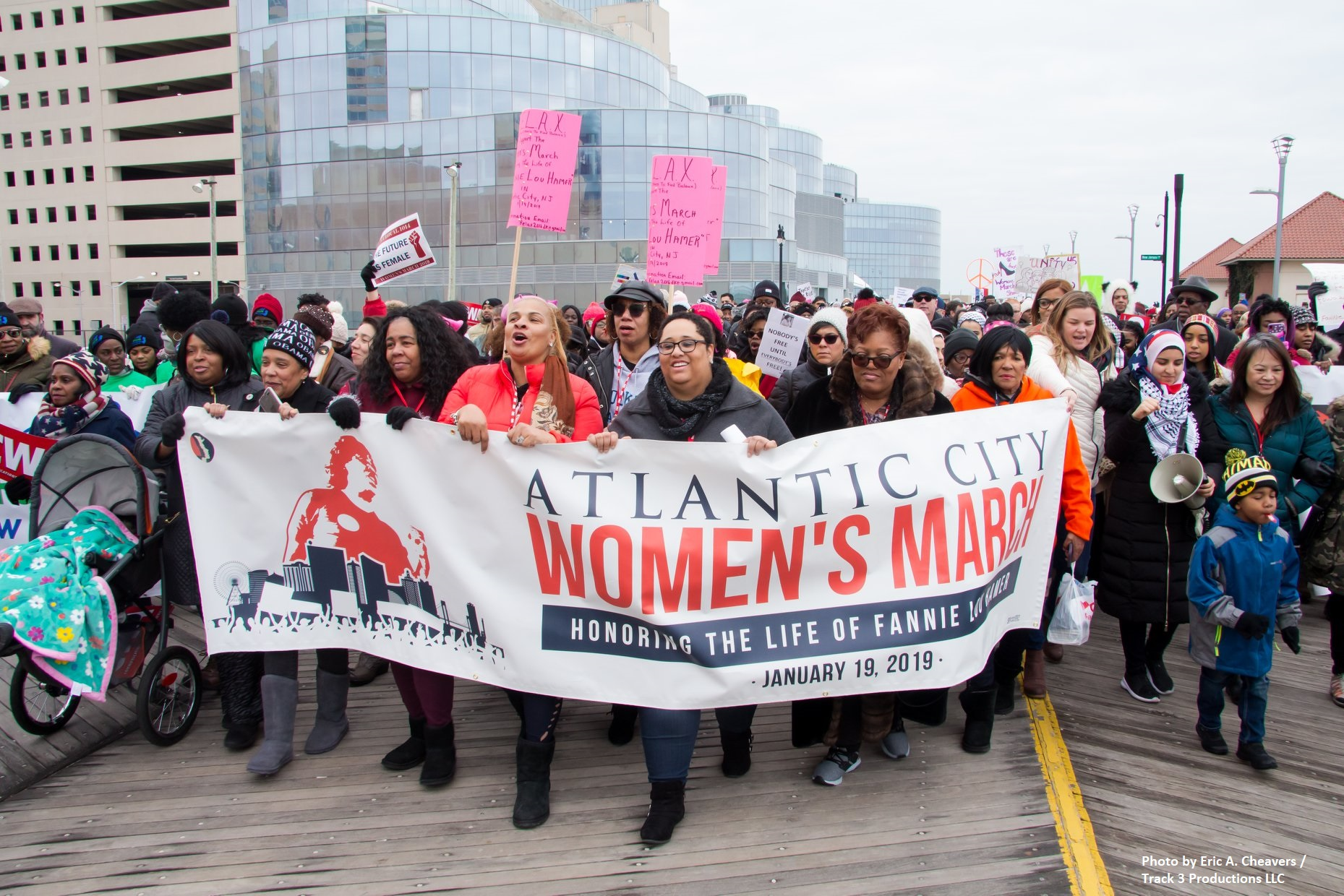 Atlantic City Women's March - Photo by Eric A. Cheavers / Track 3 Productions LLC