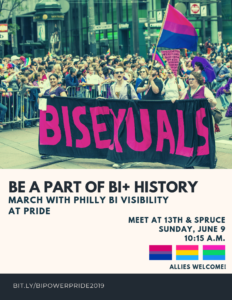 Philly Bi Visibility Pride 2019