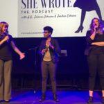 A.G., Jaleesa Johnson, and Jordan Coburn 2019-03-29 Miracle Theatre, DC