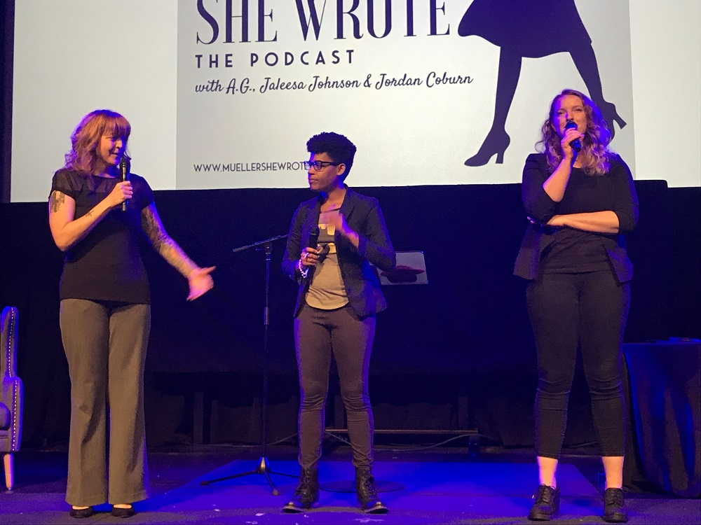 A.G., Jaleesa Johnson, and Jordan Coburn 2019-03-29 Miracle Theatre, DC