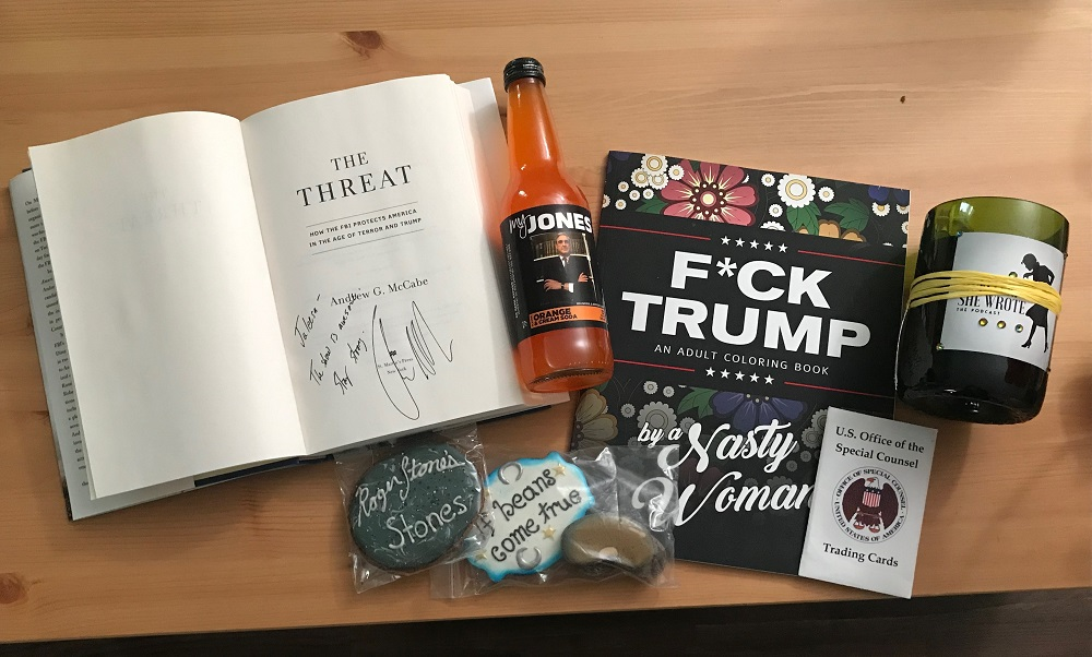 Jaleesa Johnson's gifts from Mueller, She Wrote fans