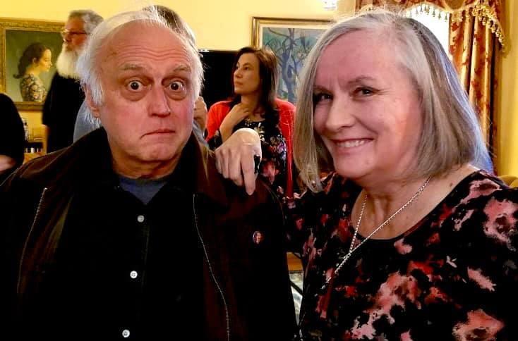 Alan Semok and Mary McGinley