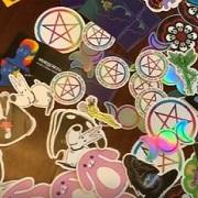 wendycards stickers