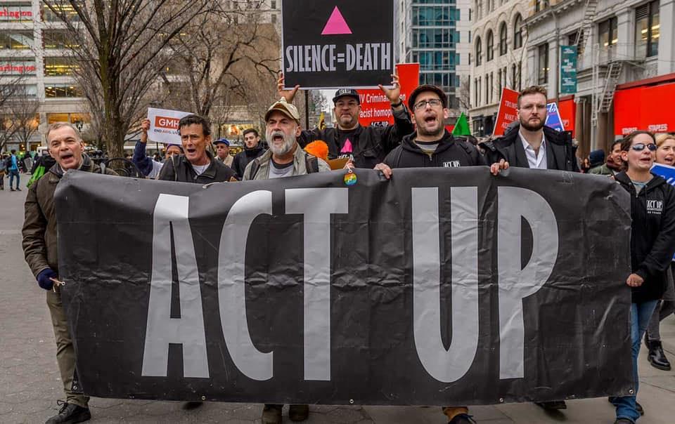 Act Up activists