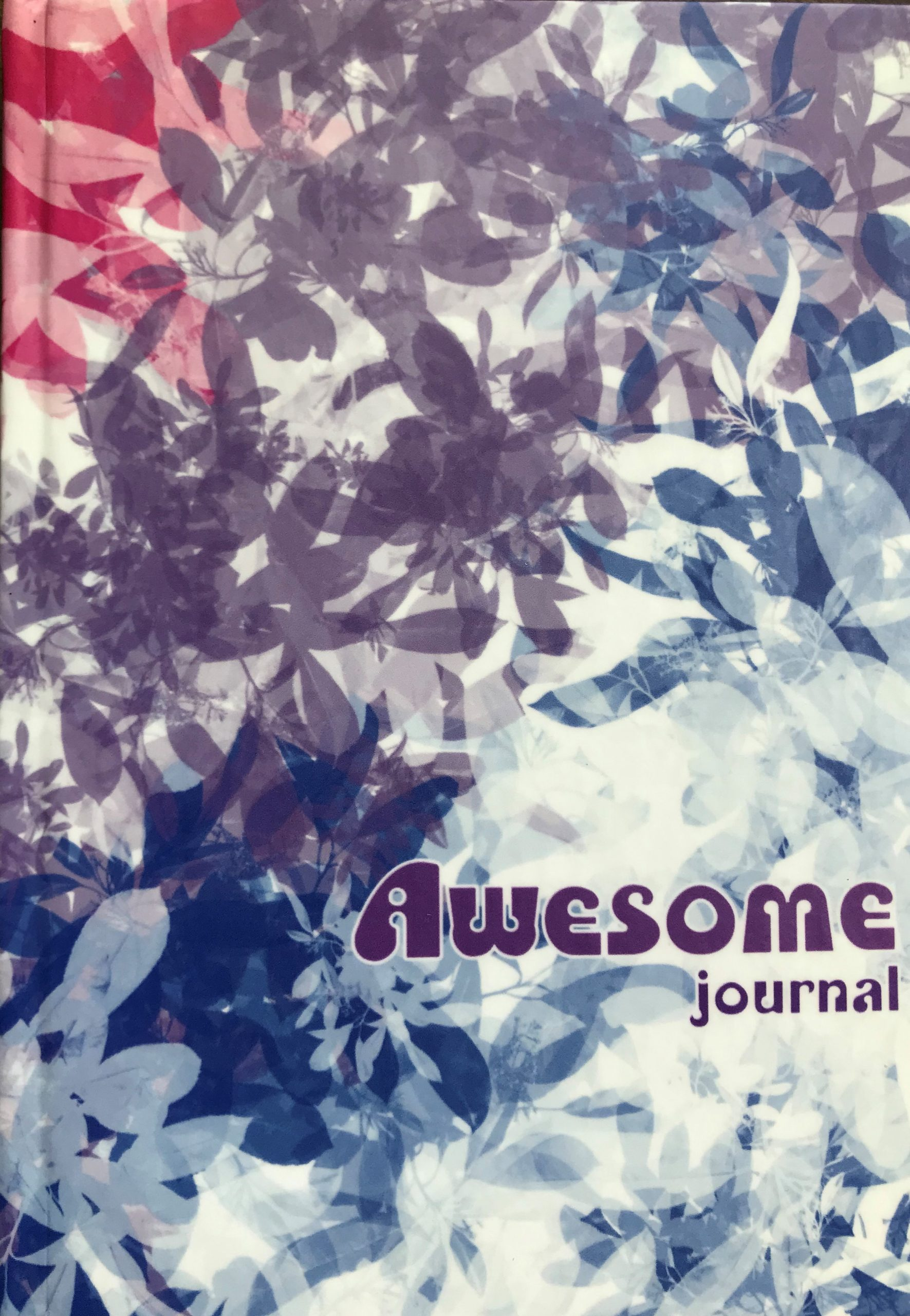 Awesome Journal, The Leftscape, design by Wendy Sheridan
