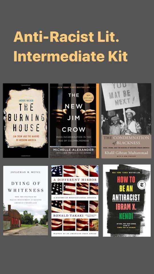anti-racist books - intermediate
