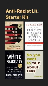 anti-racist books - starter
