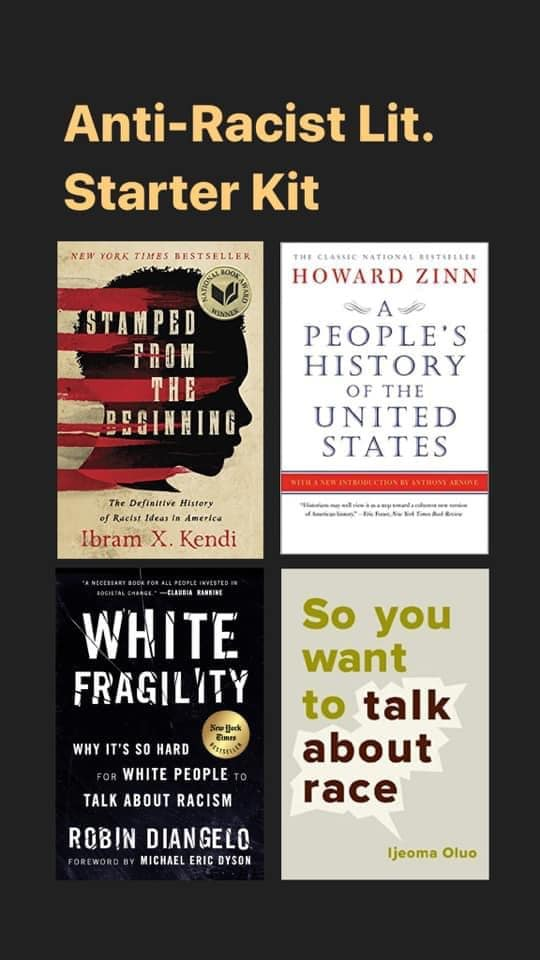 Anti-Racist books - starter