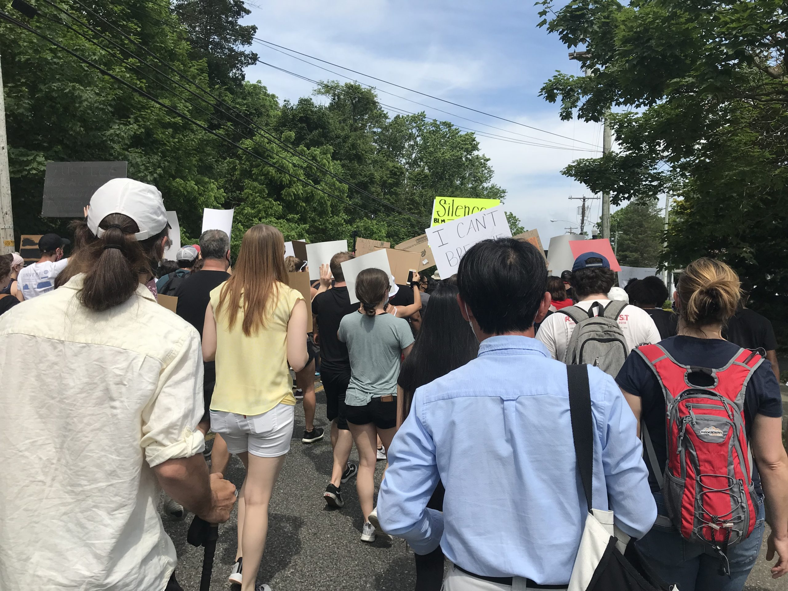 Black Lives Matter protest, Williamstown, NJ 6/6/20