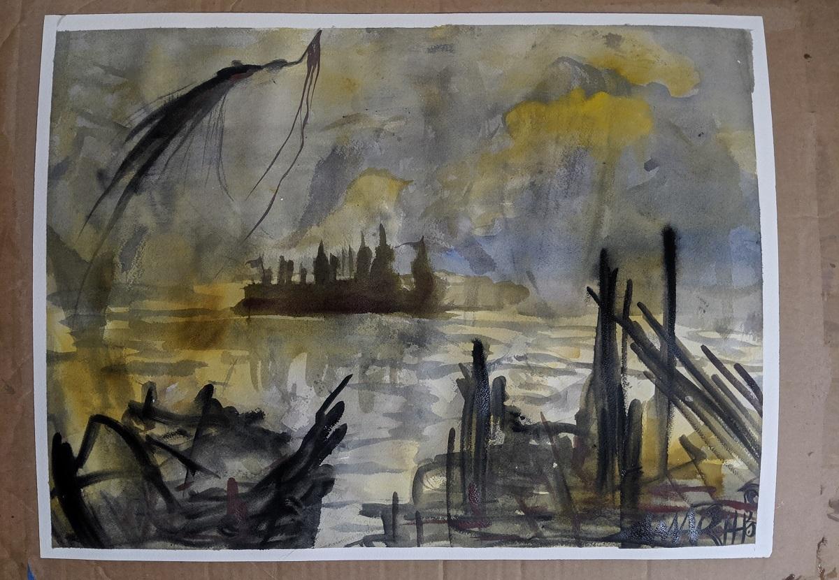 painting Anji Marth