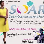Robin Renee on the S.O.A.R. radio show 11/15/2020