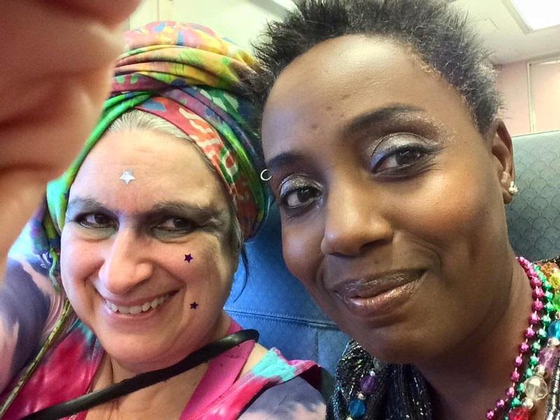 Wendy Sheridan and Robin Renée, NYC Pride 2015
